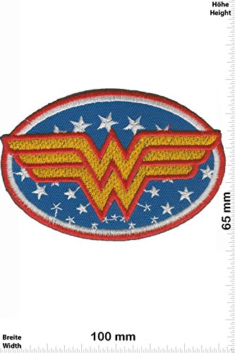 Patch - Wonder Woman - Marvel - HQ - Movie Game Patch - Cartoon - Comic - Patches - Aufnäher Embleme Bügelbild Aufbügler - Costume