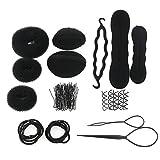 NUOLUX Haar Styling Set,Haar-Styling festgelegt Kit für Frauen Mädchen