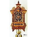 Alemán Reloj réplica antiguo de 8 días de movimiento 43,5 cm - Auténtico reloj