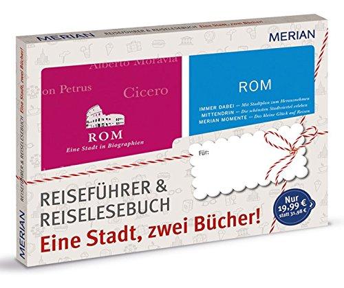 Preisvergleich Produktbild MERIAN Rom: eine Stadt, zwei Bücher: Geschenkbox zum Vorteilspreis (MERIAN momente)