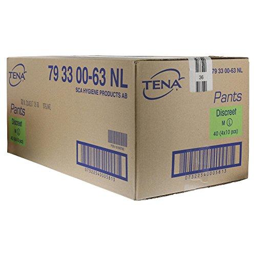 TENA PANTS Discreet L 95-125 cm Einweghose 40 St