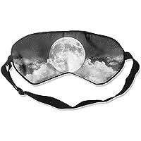 Comfortable Sleep Eyes Masks Christmas Big Moon Pattern Sleeping Mask For Travelling, Night Noon Nap, Mediation... preisvergleich bei billige-tabletten.eu