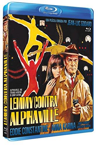 Lemmy Contra Alphaville BD 1965 Alphaville, une étrange aventure de Lemmy Caution [Blu-ray] 51WN9CnHepL