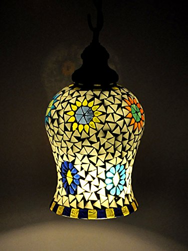 pendente leggero artigianali etnici decorativi appesi soffitto di vetro della (Filigrana Pendente Di Montaggio)