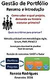 Resumo e introdução na gestão de Portfólio: Portfólio na gestão de projetos e organização pelo Excel para projetos de pequenas e médias empresas; e projetos pessoais (Portuguese Edition)