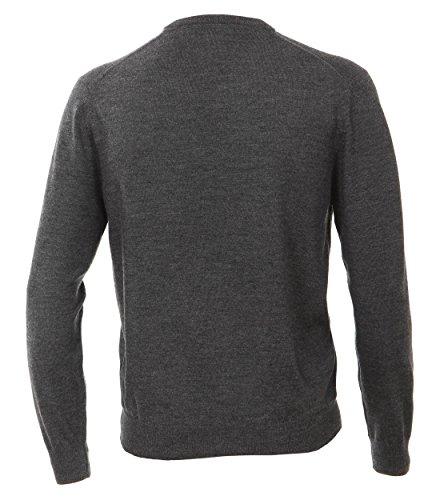 Michaelax-Fashion-Trade -  Maglione  - Basic - Maniche lunghe  - Uomo Anthrazit (781)
