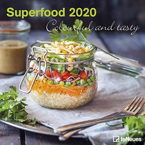 Superfood - Colourful and tasty 2020 - Broschürenkalender - Wandkalender - Fotokalender - 30x30cm - Foodkalender