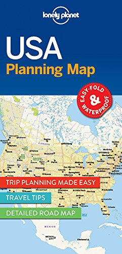 Descargar Libro USA Planning Map - 1ed - Anglais de Lonely Planet Publications