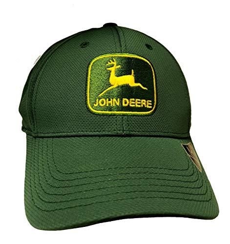 John Deere Memory Fit - Vintage Cap-Jd Green-Os - Jd John Deere