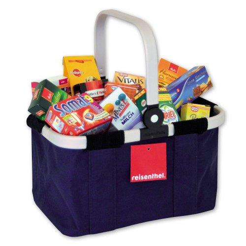Preisvergleich Produktbild Tanner Kaufladen Reisenthel Carry Bag, ca. 30 Marken-Packungen, blau