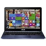 Asus Notebook X205TAUH01BK, Z3735F QuadCore, 1,33 GHz, 32 Go, carte graphique HD, Windows 8, bleu foncé, 11,6'