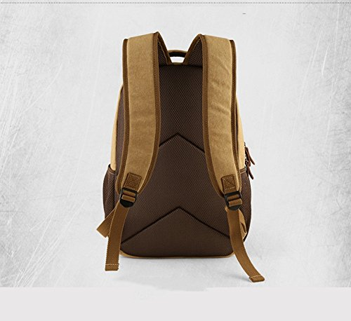 Versione coreana del sacchetto di tela di canapa di tendenza / sacchetto di spalla casuale / sacchetto di spalla / borsa dell'allievo / sacchetto di spalla ( Colore : Marrone ) Nero