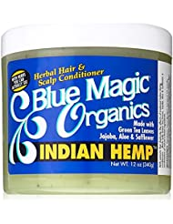 Blue Magic Organics Indian Hemp Herbal Hair & Scalp Après-shampoing 340g