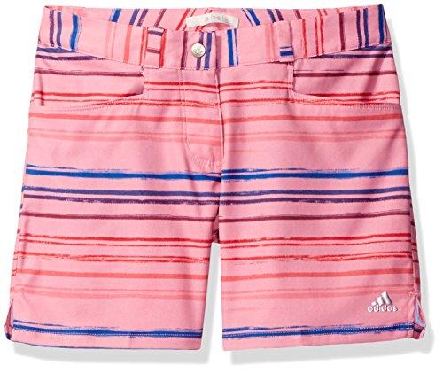 adidas Golf Mädchen Paint Stripe Shorts, damen, Easy Pink