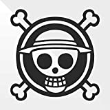 erreinge Sticker Pirata Pirate One Piece - Decal Auto Moto Casco Wall Camper Bike Adesivo Adhesive Autocollant Pegatina Aufkleber - cm 10