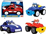 Dickie Toys 203814003 - Happy Rescue, Fahrzeug mit Freilauf, Licht und Sound