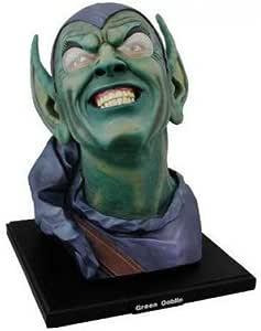 MARVEL SPIDERMAN: Alex Ross Green Goblin Head Bust by Diamond Comic Distributors
