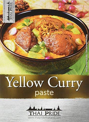 Thai Pride Curry Paste, gelb, 50 g
