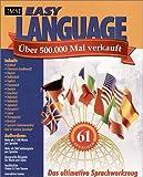 Easy Language, 61 Sprachen, 1 CD-ROM Arabisch, Chinesisch (traditionell), Kreolisch (Haiti), Dänisch, Holländisch, Englisch, Französisch, Deutsch, Griechisch, Hebräisch, Italienisch, Japanisch, Koreanisch, Latein,  Portugiesisch, Russisch,