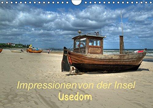 Impressionen von der Insel Usedom (Wandkalender 2018 DIN A4 quer): Die Insel im Wandel der Jahreszeiten (Monatskalender, 14 Seiten ) por k. A. Hoschie-Media
