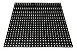Heavy Duty Rubber Grass Mat 1m x 1m Childrens Playground Garden Safety Floor Matting