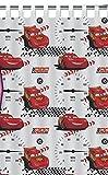 Disney Cars - Tenda con personaggio Saetta, 100% cotone