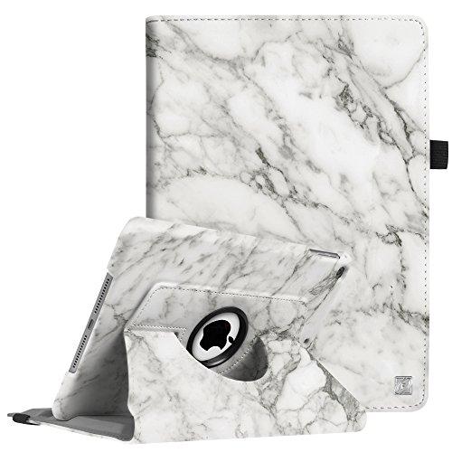 Fintie iPad 9.7 Zoll 2018 2017 / iPad Air Hülle - 360 Grad Rotierend Stand Cover Case Schutzhülle mit Auto Schlaf/Wach Funktion für Apple iPad 9,7'' 2018 2017 / iPad Air 2 / iPad Air, Marmor Muster