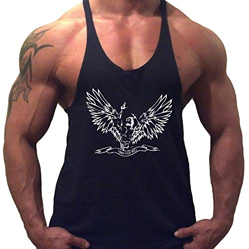51WNGE5m84L. SS500  - Musclealive Mens Bodybuilding ZYZZ Fashion Gym Tank tops Stretchy Cotton