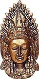 Cuadros Lifestyle Deko-Masken | 2D-Wandmaske | Venezianische Masken | Afrikanische Maske | Buddhamaske | Karneval | Wandhänger | Matt, Größe:ca. 20x40 cm