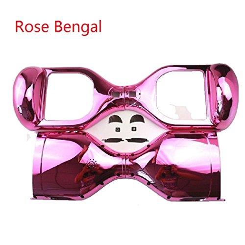 Wintech - Plastica esterna sostitutiva per hoverboard elettrico, 16,5cm, cromato, Rose Bengal