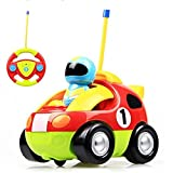 PYRUS RC Cartoon Cars with Action Figure Radio Control Toy with Music Great Gift for Toddlers Kids - Pyrus - amazon.co.uk