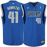 NBA Dirk Nowitzki, Dallas Mavericks swingman Jersey Trikot - Neu (Blau, M – (48-50))