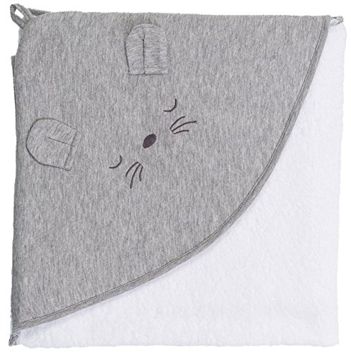 (Smithy Fashion Kapuzentuch Maus, 100x100 cm, weiß)