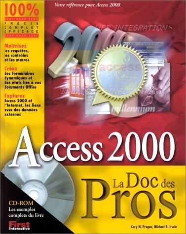 Access 2000, la Doc des Pros