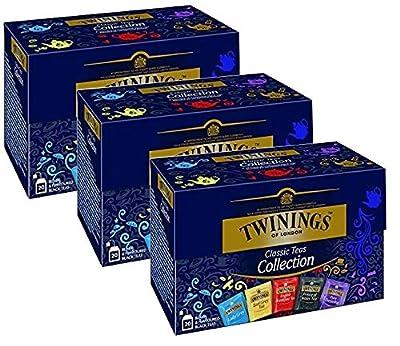 Twinings Collection de thé noir classique 3 x 20 sachets