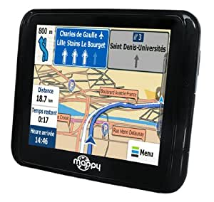 "Mappy Mini 290 GPS France Ecran 3,5"" Noir"