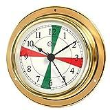 Barigo 683 Tempo Orologio della Nave ottone FS A x B: 110 mm x 32 mm