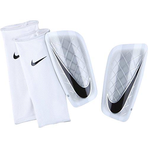 Nike Herren Schienbeinschoner Mercurial Lite, White/Black, XL, SP0284-100