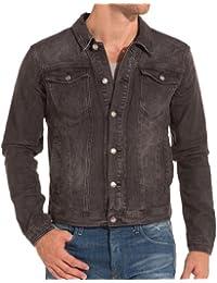 Sixth June - Veste grise en jeans fashion