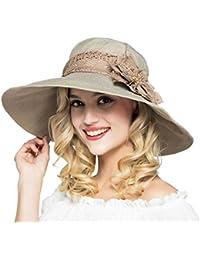 Amazon.it  fiori di cotone - Verde   Cappelli e cappellini ... 2404077681eb