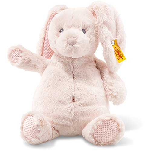 Steiff 240706 Soft Cuddly Friends Belly Hase Plüsch rose 28 CM