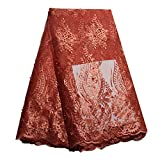 African Spitze Stoff Nigerianisches French Lace Net Stoff