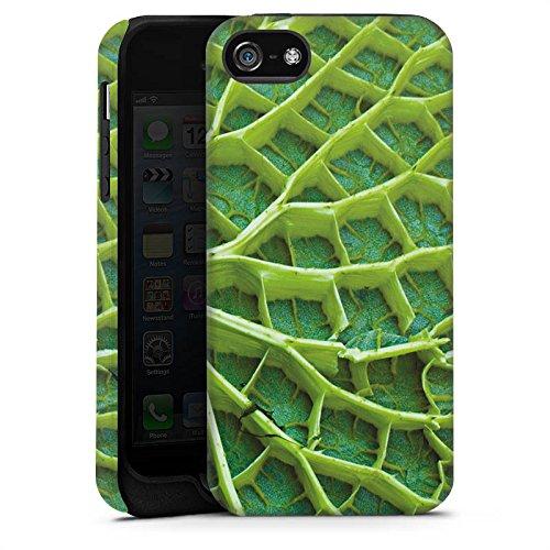 Apple iPhone 6 Housse Étui Silicone Coque Protection Feuille de nénuphar Plante Nature Cas Tough terne