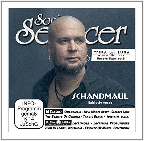 Sonic Seducer 09-2016 + CD mit exkl. Vorabsong zum Album Leuchtfeuer von Schandmaul + 15 weitere Songs + Gothic-Fetisch Kalender 2017 im XXL-Format, Bands: Schandmaul (Titel), In Extremo u.v.m.