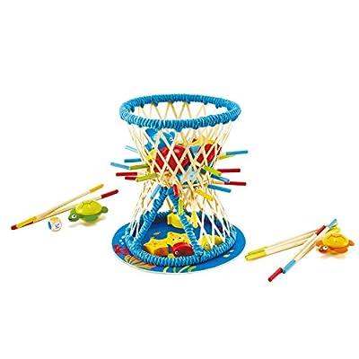 Hape-HAPE-E5561-Jeux de société en Bambou-Pallina Marin Jouets, E5561, Multicolore