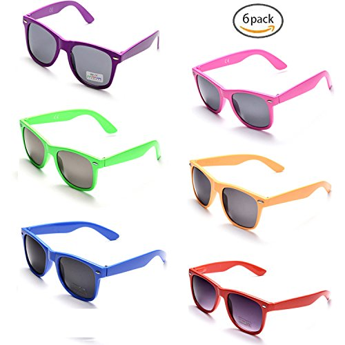 (ONNEA 10 Paare Party Favors Sonnenbrille Set Sommer Kinder Damen (Mischen 6-Pack))