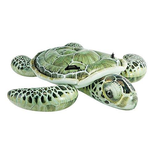 Intex aufblasbares Tier realistisch + 2Griffe Schildkröte