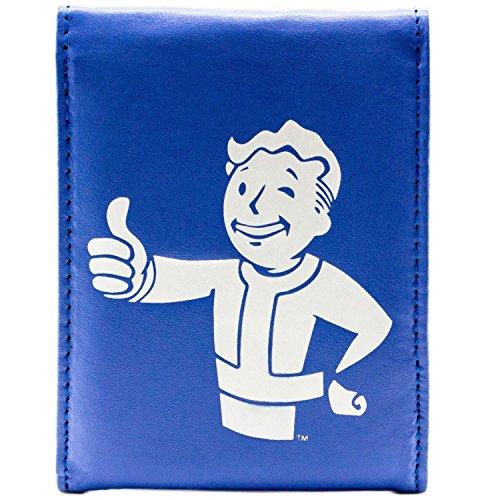 Bethesda Fallout 4 Thumbs Up Button Blau Portemonnaie (Kostüme Spiele Commonwealth)