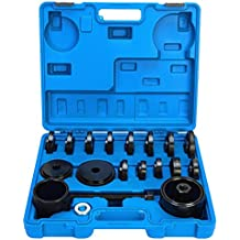 Juego de herramientas de 23 piezas de FreeTec para el montaje y la extracción de rodamientos