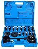 FreeTec–Juego de 23. Extractores de rodamientos, herramienta para Buje de rueda, Herramienta de montaje